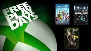 Free Play Days – Tom Clancy's Rainbow Six Siege, <b>Plants Vs</b> ...
