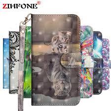 ZIHFONE Case For Meizu M6 Case <b>High Quality Leather</b> Flip Case ...