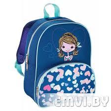Рюкзак детский <b>Hama LOVELY GIRL синий</b>/голубой, цена 21.73 ...