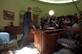 911 president george w bush addresses media in oval office 0913 bush library oval office