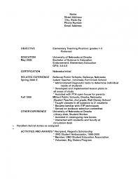 math teacher resume objective examples cipanewsletter elementary teacher resume sample first grade teacher resume sample