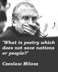Image result for czeslaw milosz quotes