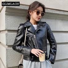 Buy <b>genuine sheepskin leather</b> jacket for <b>women</b> and get free ...