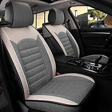 INCH EMPIRE Sport Style <b>Linen</b>/<b>Flax</b> Super Breathable <b>Car Seat</b> ...