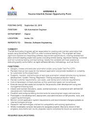 sample resume for qtp automation testing   simple cv for beginnerssample resume for qtp automation testing software testing resume manual testing automation testing automation engineer resume