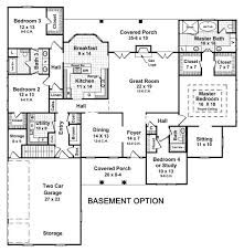 Awesome House Plans With Finished Basement   A Bedroom House    Awesome House Plans With Finished Basement   A Bedroom House Floor Plans With Basement