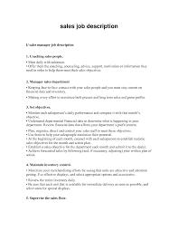 resume of a sales associate   sales   associate   lewesmrsample resume  job description for a retail sales