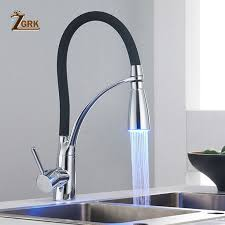 <b>ZGRK</b> New Black Flexible Kitchen Sink <b>Faucet</b> Brass 360 degree ...