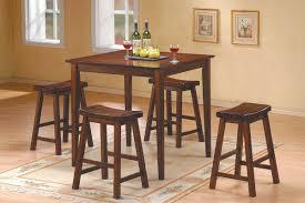 table sets pc dinette homelegance saddleback  pc dinette set in warm cherry finish