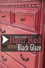 distressed barn red chest of drawers with black glaze facelift furniture brilliant 14 red furniture ideas furniture