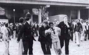 Image result for images of the notting hill race riots