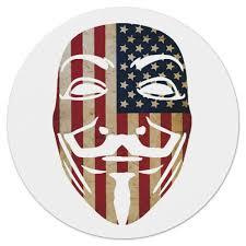 Коврик для мышки (круглый) <b>USA Anonymous</b> #1205461 от ...