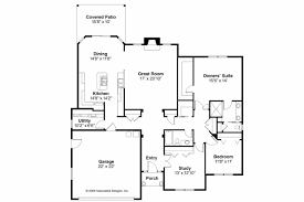 Traditional House Plans   Porterville     Associated DesignsTraditional House Plan   Porterville     Floor Plan