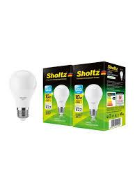 Комплект из 2 <b>светодиодных ламп Sholtz A60</b> 10Вт E27 4200К ...
