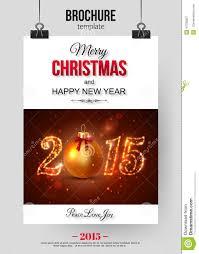 christmas brochure template abstract stock vector image 47035807 christmas brochure template abstract