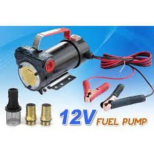 12v DC <b>Fuel Oil</b> Diesel <b>Transfer</b> Pump Heavy Duty <b>40</b> L/<b>min</b> ...