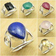 Посеребренный <b>кольцо</b> золото цветные модные <b>кольца</b> 6.5 ...