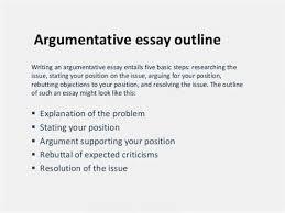 argumentative essay outline format source our argumentative essay outline is for anyone needing to defend format for argumentative essay