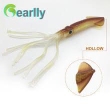 Online Shop 3D Vivid Flat Squid <b>Fishing</b> Bionic Bait luminous PVC ...