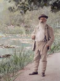 claude monet in his garden at giverny summer photographer claude monet in his garden at giverny summer 1905 photographer jacques ernest