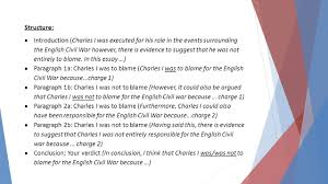 title assessment preparation was king charles to blame for the 5 structure 61623 introduction