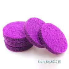 New <b>Styles 20pcs</b>/lot <b>Colorful</b> Aromatherapy Felt Pads 22.5mm Fit ...