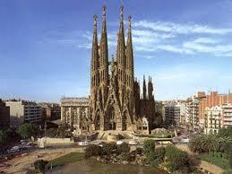Готическое строение в Барселоне