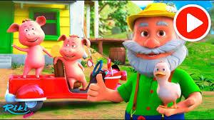 Животные на ферме | Old MacDonald Had A Farm | <b>3D</b> мультик ...