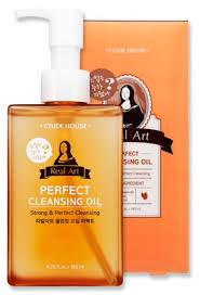 ETUDE HOUSE <b>Real Art</b> Perfect Cleansing <b>Oil</b> Интенсивное ...