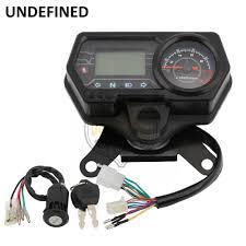<b>Motorcycle Speedometer Odometer 12V</b> Digital Backlight ...