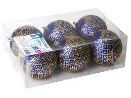 <b>Набор шаров Золотая сказка</b> 6шт 6см Blue - Чижик