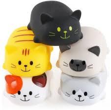 <b>5PCS Cute Cartoon</b> Cat Shaped Squishy Toys For Babies Bath ...