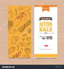 flyer templates organic vegetables hand drawn stock vector flyer templates organic vegetables in hand drawn style perfect design for farm market advertising