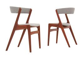 dining chairs kai kristiansen  dining chairs by kai kristiansen sold