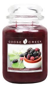 <b>Ароматическая свеча Mulberry</b> (Шелковица) Goose Creek купить ...