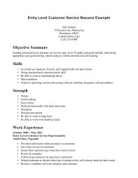 customer service example resume customer service resume example objective for resume in retail