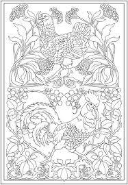 essay design coloring pages az coloring pages  simple design art    printables creative haven art nouveau animal designs coloring book dover