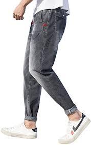 brandless <b>Men's</b> Jeans <b>Summer</b> Fashion Large Size Loose <b>Tooling</b> ...
