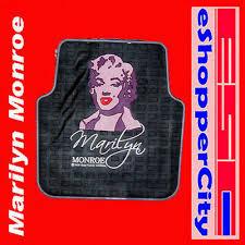 <b>Marilyn Monroe</b> PVC Utility / Rear Car Floor Mat <b>1 pcs</b> Rubber Type ...