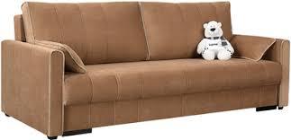 Купить диван тканевый прямой <b>Римини</b> Dana коричневый ...