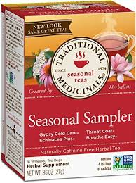 Traditional Medicinals <b>Seasonal Tea</b> Sampler <b>Variety Pack</b> 16 <b>Tea</b> ...