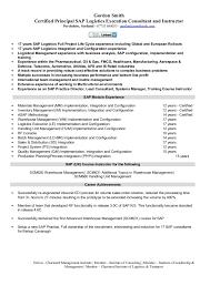 SAP Logistics Execution Consultant Cv Gordon Smith Certified Principal SAP Logistics Execution Consultant and Instructor