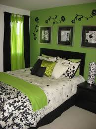 green and white bedrooms theme awesome bedroom decorating ideas with white and green bed sheet black white bedroom awesome