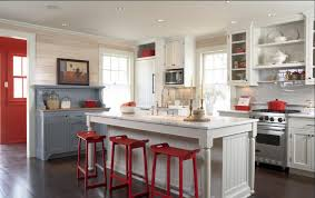 red white and blue kitchen: red white and blue kitchen delorme designs red white and blue kitchen