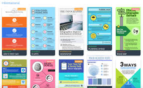 the top 9 infographic template types venngage informational infographic template