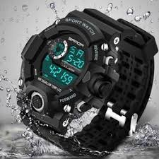Men Sports Watches Fashion Wristwatches Dive Men's Sport ... - Vova