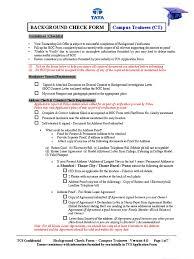 bgc form campus trainees background check passport