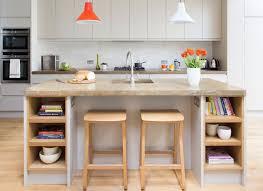 kitchen island integrated handles arthena varenna: this neat breakfast bar has tucked under stools integrated power points so you can modern kitchen islandgrey