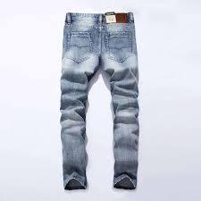 <b>2019</b> New White Washed Italian Designer Men Jeans High Quality ...