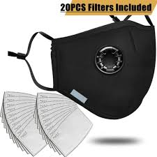 Anti Pollution PM2.5 <b>Mouth Mask</b> Dust <b>Respirator Washable</b> ...